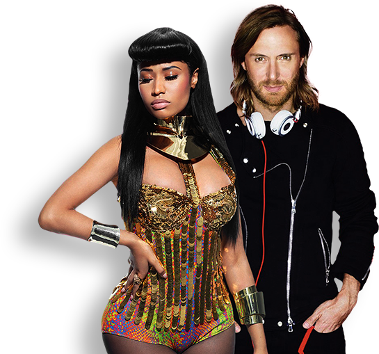 Nicki Minaj, David Guetta